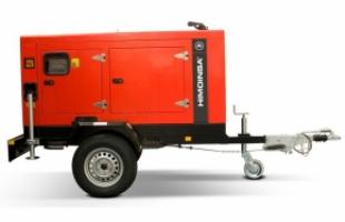 Мобильный дизельный генератор Energo ED,33 кВТ